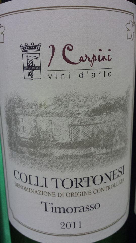 Cascina I Carpini – Timorasso 2011 – Colle Tortonesi
