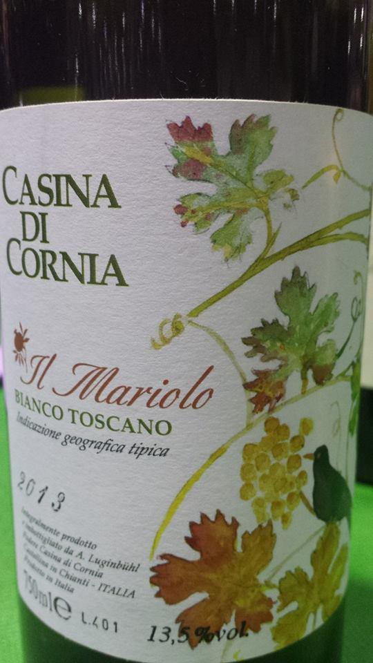 Casina di Cornia – Il Mariolo 2013 – Bianco Toscano – Toscana IGT