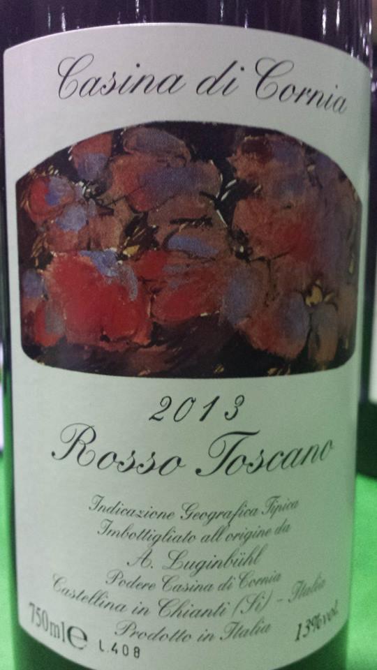 Casina di Cornia – Rosso Toscano 2013 – Toscana IGT
