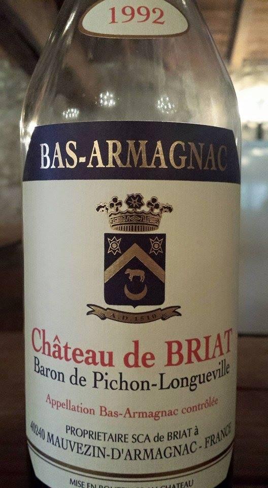 Château de Briat 1992 – Bas-Armagnac