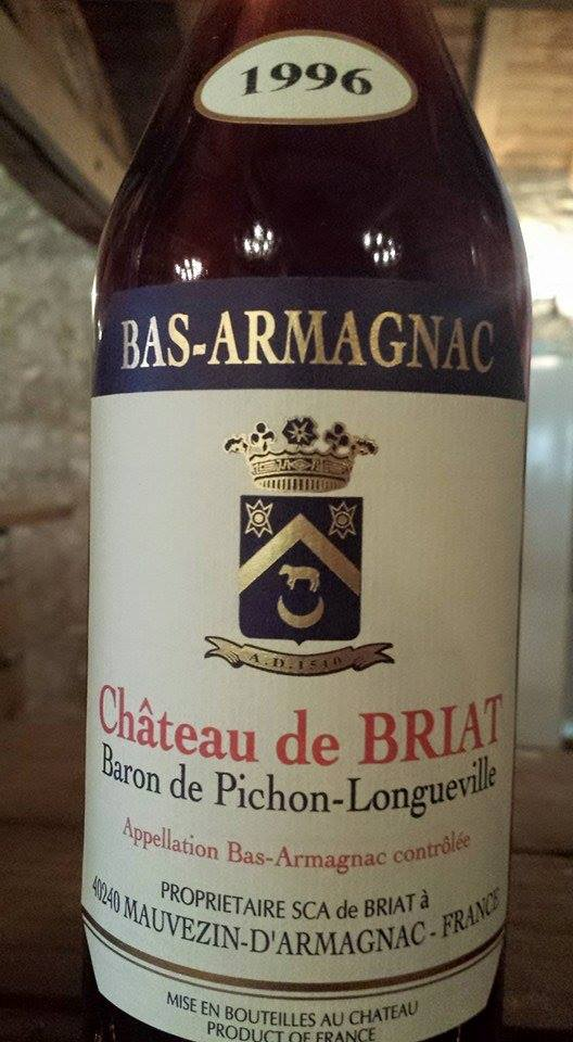Château de Briat 1996 – Bas-Armagnac