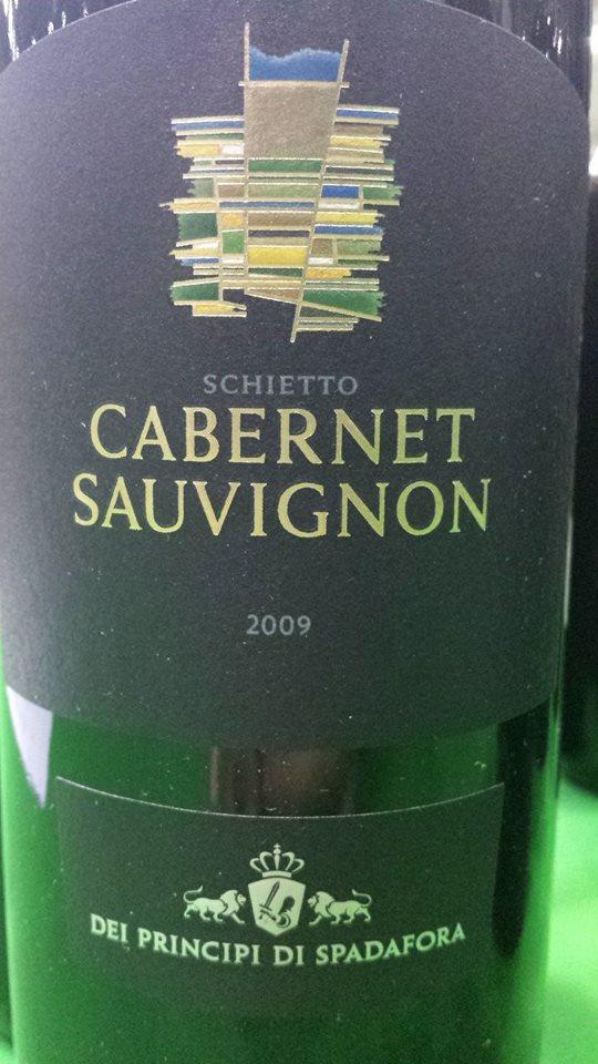 Dei Principi Di Spadafora – Schietto Cabernet Sauvignon 2009 – Sicilia IGT