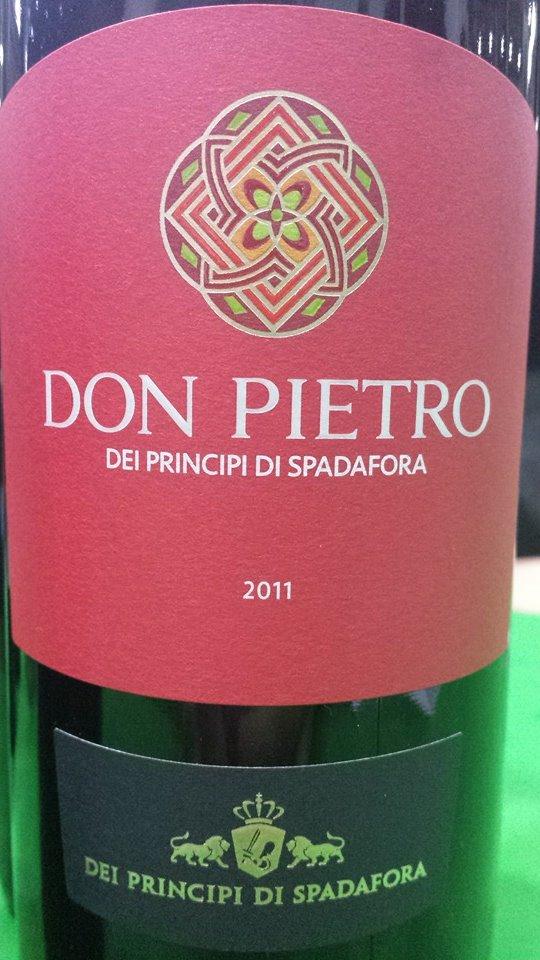 Dei Principi Di Spadafora – Don Pietro 2011 – Terre Siciliane IGT