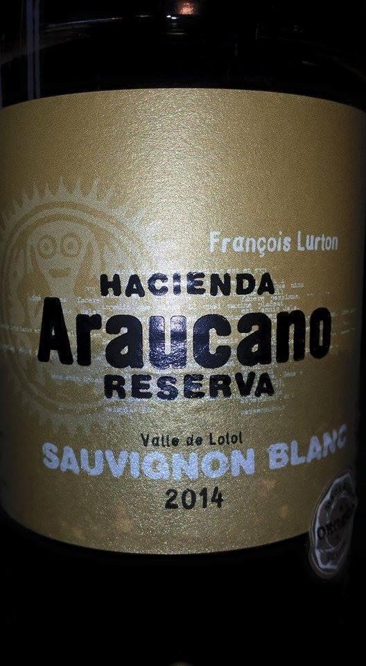 Hacienda Araucano – Francois Lurton – Sauvignon Blanc Reserva 2014 – Valle de Lolol