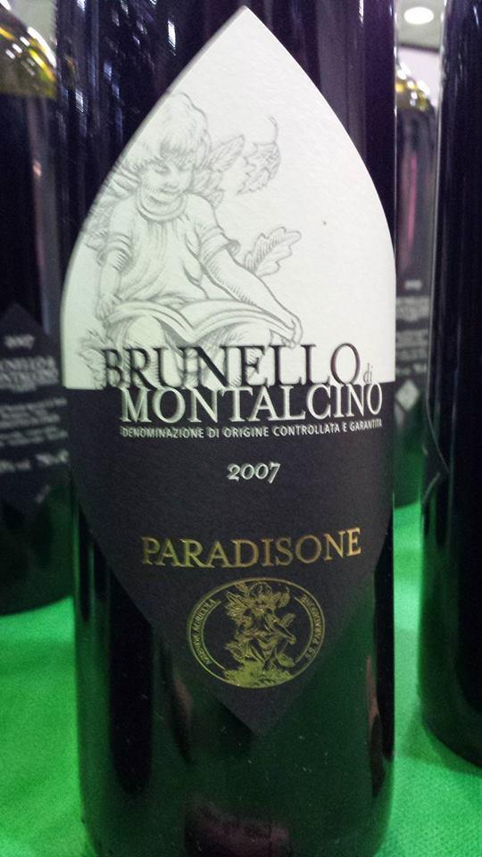 Paradisone 2007 – Brunello Di Montalcino