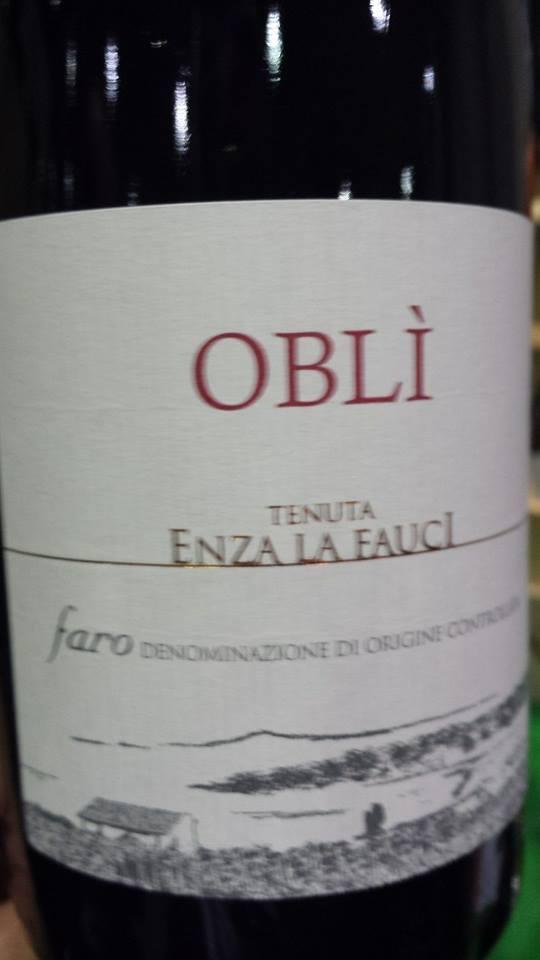 Tenuta Enza La Fauci – Oblì 2011 – Faro D.O.C.