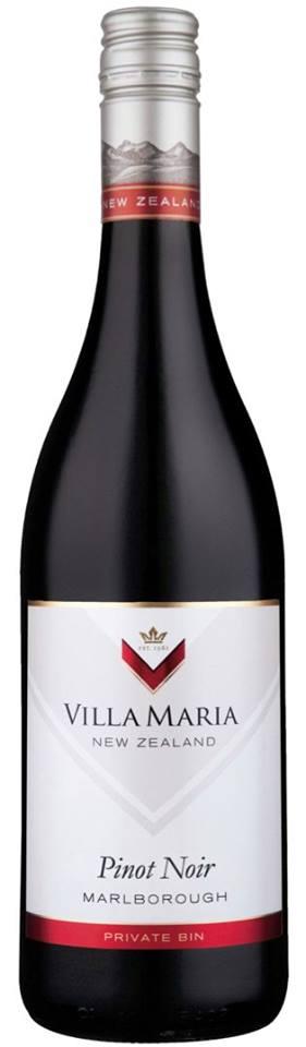 Villa Maria – Pinot Noir 2012 – Private Bin – Marlborough