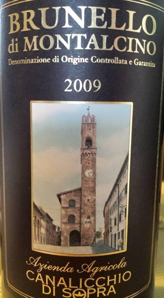 Canalicchio di Sopra 2009 – Brunello di Montalcino DOCG