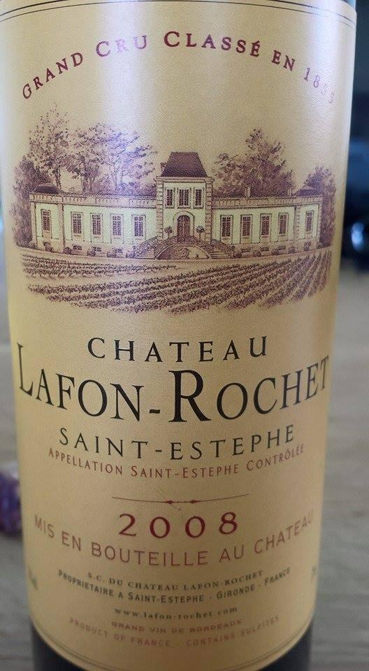 Château Lafon-Rochet 2008 – 4ème Grand Cru Classé à Saint-Estèphe