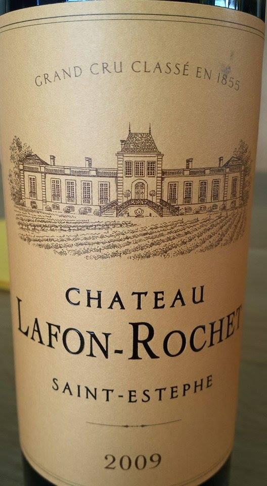 Château Lafon-Rochet 2009 – 4ème Grand Cru Classé à Saint-Estèphe