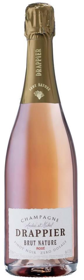 Champagne André et Michel Drappier – Brut Nature – Rosé – Pinot Noir Zero Dosage