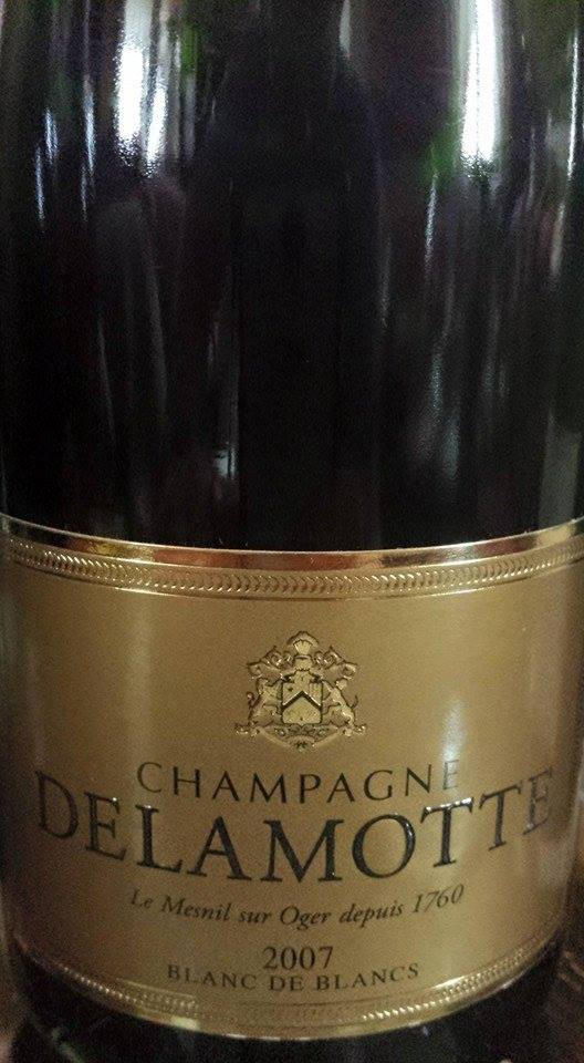 Champagne Delamotte – Blanc de blancs 2007 – Brut