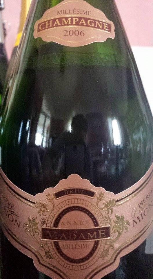 Champagne Pierre Mignon – Cuvée Année de Madame 2006 – Brut