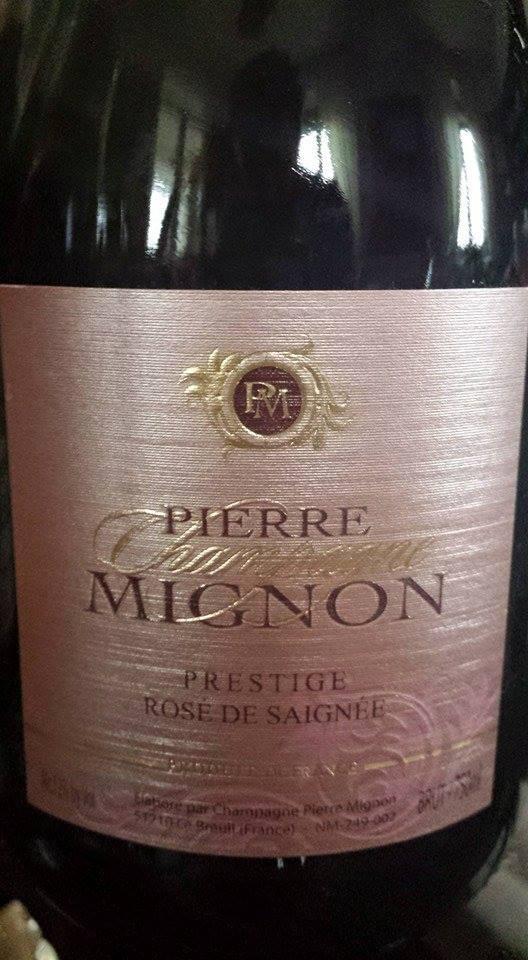Champagne Pierre Mignon – Cuvée Prestige – Rosé de Saignée – Brut
