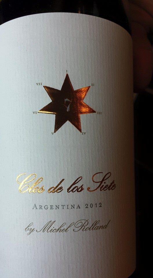Clos de los Siete 2012 – Valle de Uco – Mendoza