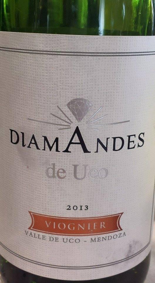 Diamandes de Uco – Viognier 2013 – Vale de Uco – Mendoza