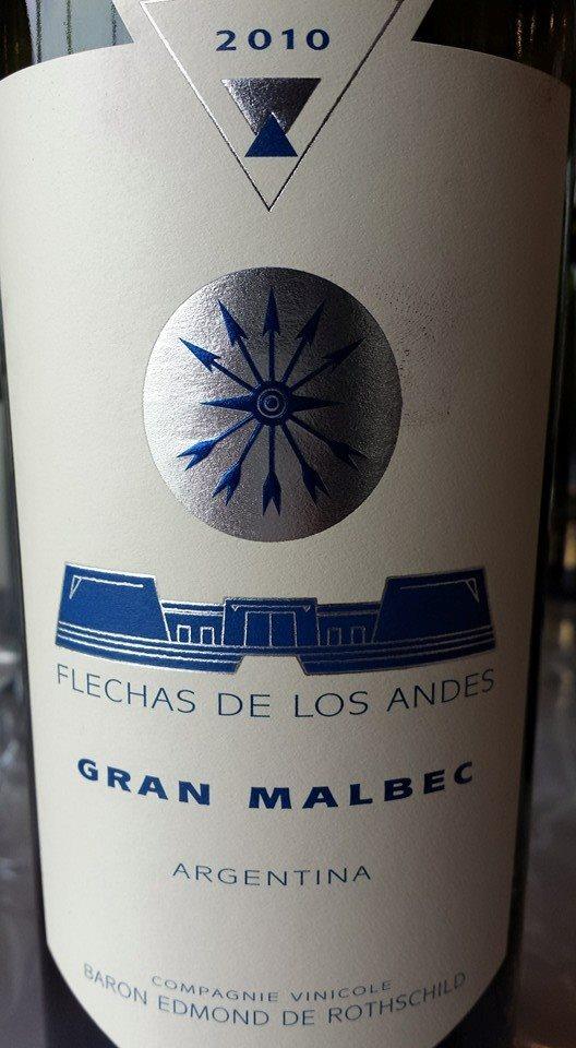 Flechas de los Andes – Gran Malbec 2010 – Uco Valley – Mendoza