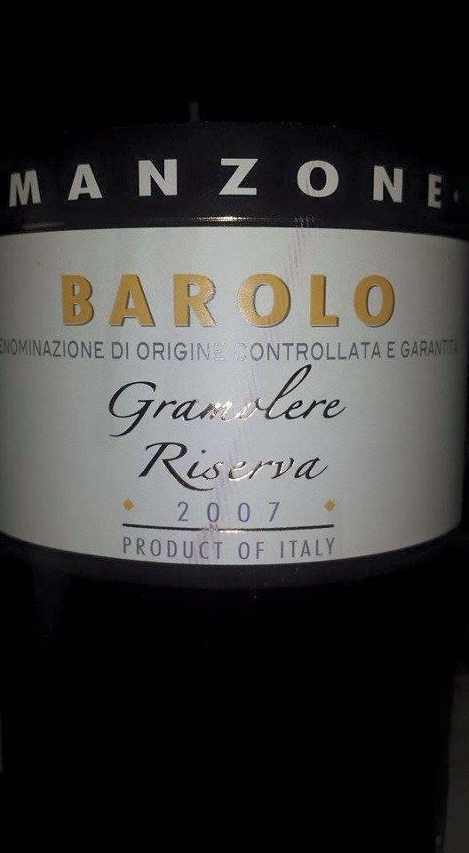 Giovanni Manzone – Gramolere Riserva 2007 – Barolo