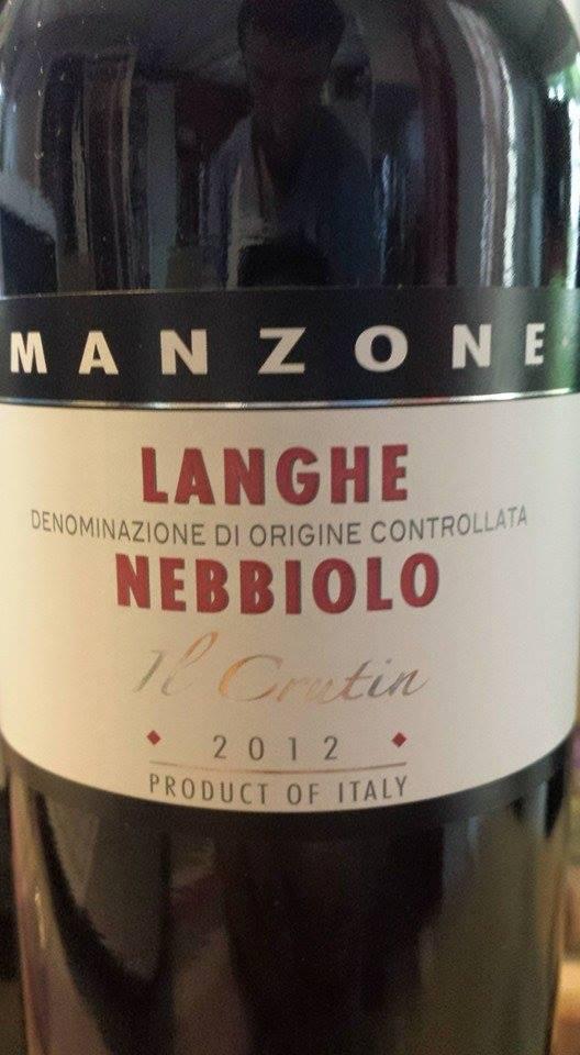 Giovanni Manzone – Il Crutin 2012 – Langhe Nebbiolo