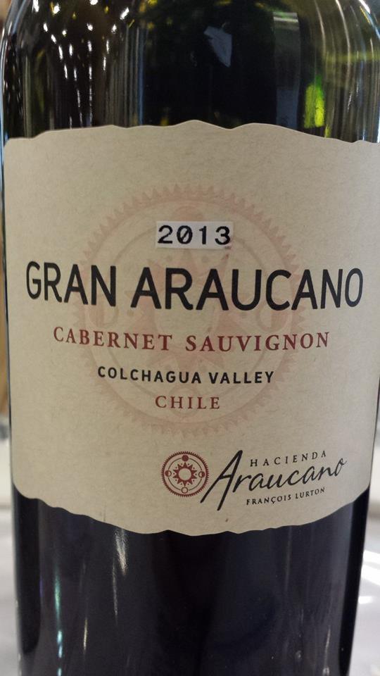 Hacienda Araucano – Gran Araucano 2013 – Cabernet Sauvignon – Colchagua Valley