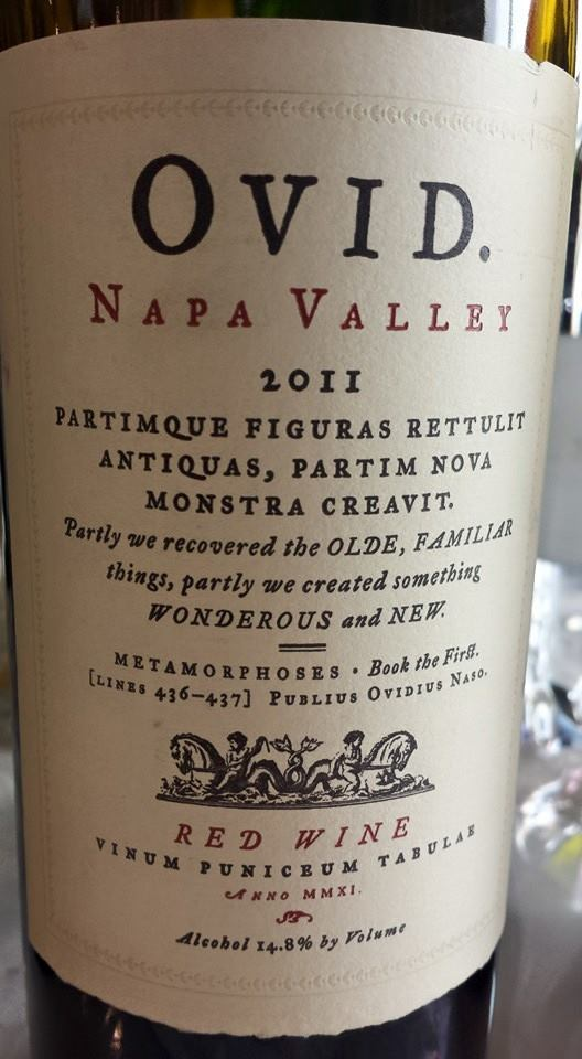 OVID Vineyards 2011 – Napa Valley