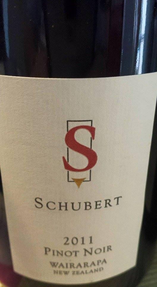 Schubert – Pinot Noir 2011 – Wairarapa