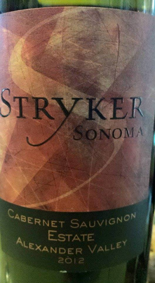Stryker Estate – Cabernet Sauvignon Estate 2012 – Alexander Valley – Sonoma