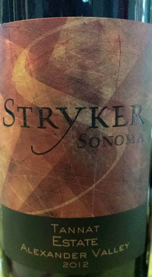 Stryker Estate – Tannat Estate 2012 – Alexander Valley – Sonoma