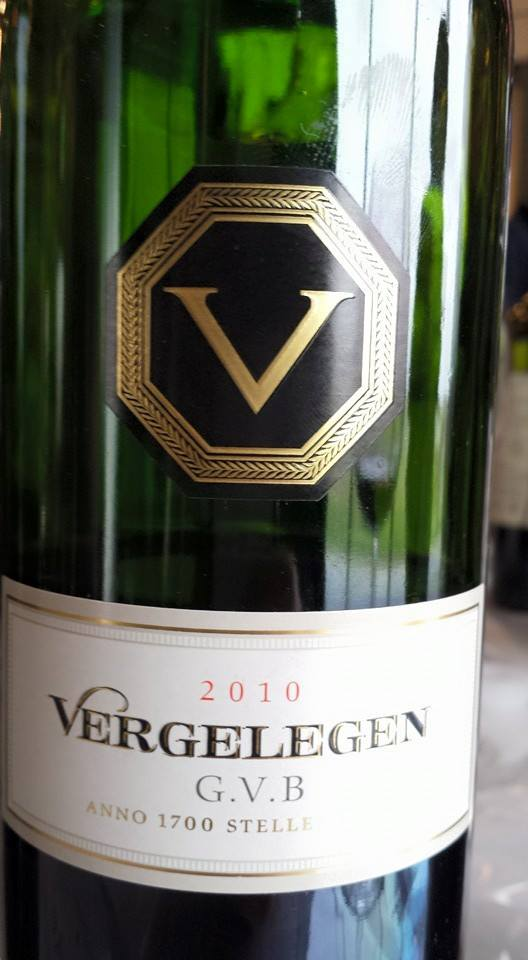 Vergelegen G.V.B. 2010 – Stellenbosch – South Africa