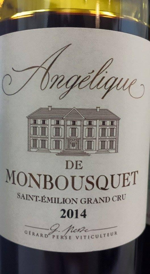 Angélique de Monbousquet 2014 – Saint-Emilion Grand Cru