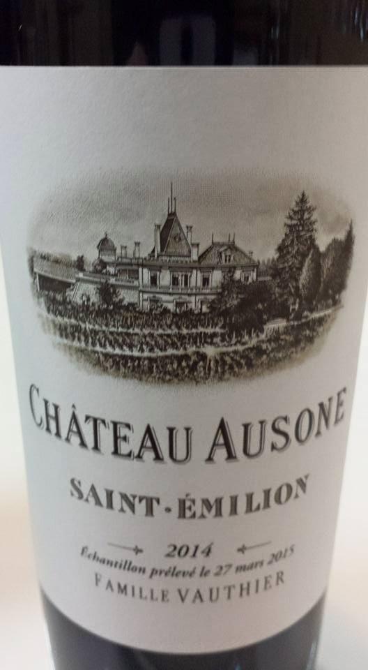 Château Ausone 2014 – 1er Grand Cru Classé A de Saint-Emilion