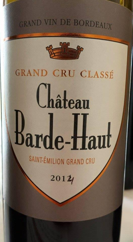 Château Barde-Haut 2014 – Saint-Emilion Grand Cru Classé