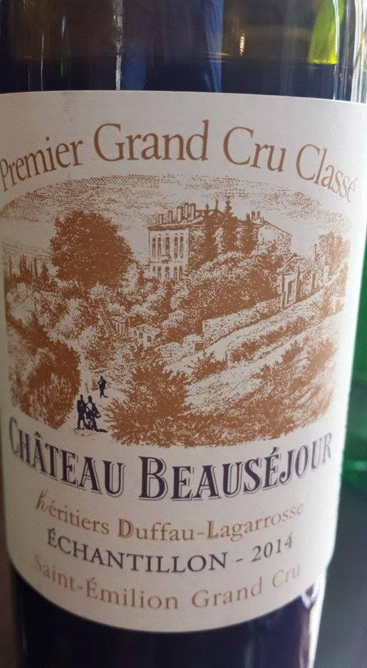 Château Beauséjour héritiers Duffau-Lagarrosse 2014 – 1er Grand Cru Classé de Saint-Emilion