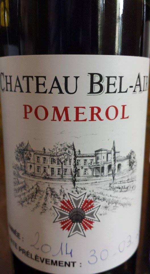 Château Bel-Air 2014 – Pomerol