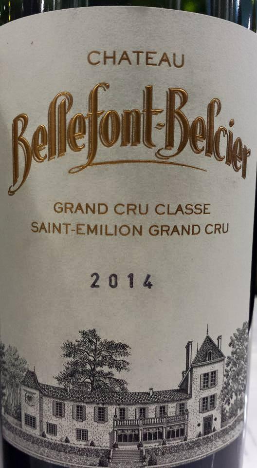 Château Bellefont-Belcier 2014 – Saint-Emilion Grand Cru Classé