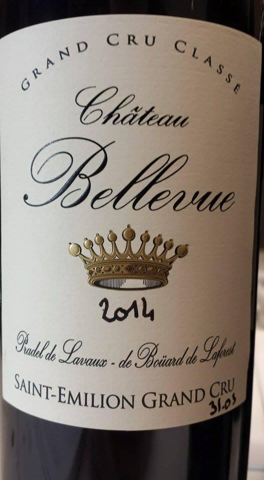 Château Bellevue 2014 – Saint-Emilion Grand Cru Classé