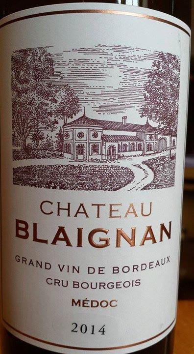 Château Blaignan 2014 – Médoc