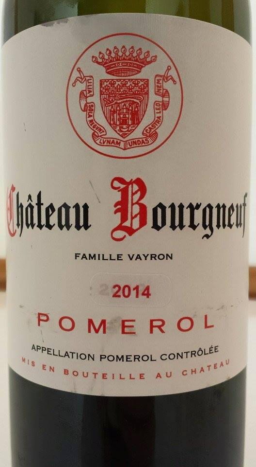 Château Bourgneuf 2014 – Pomerol