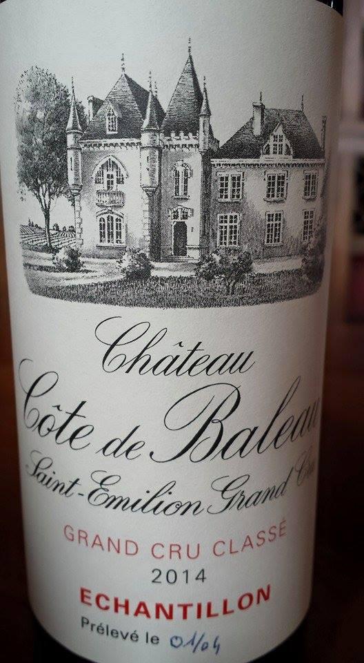 Château Côte de Baleau 2014 – Saint-Emilion Grand Cru Classé