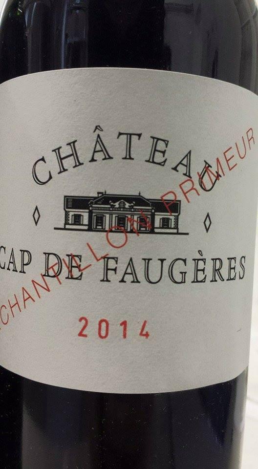 Château Cap de Faugères 2014 – Castillon Côtes-de-Bordeaux
