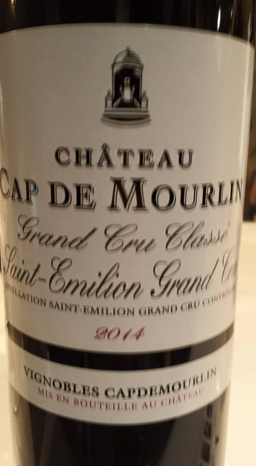 Château Cap de Mourlin 2014 – Saint-Emilion Grand Cru Classé