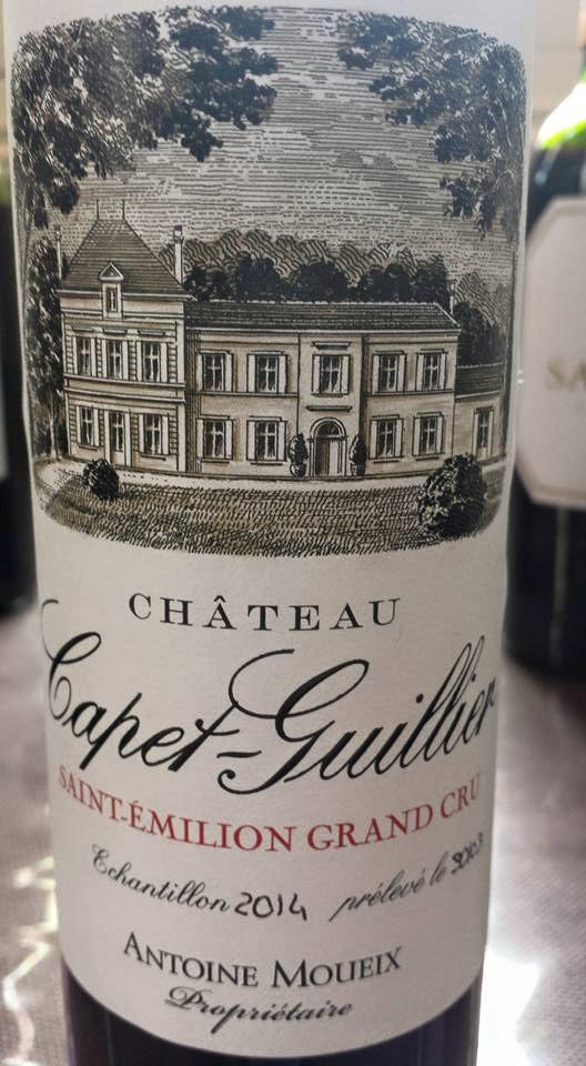 Château Capet-Guillier 2014 – Saint-Emilion Grand Cru