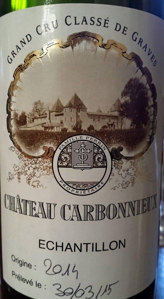 Château Carbonnieux 2014 – Pessac-Léognan – Grand Cru Classé de Graves