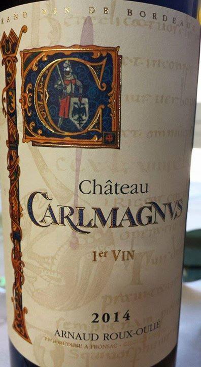 Château Carlmagnus 2014 – 1er Vin – Fronsac