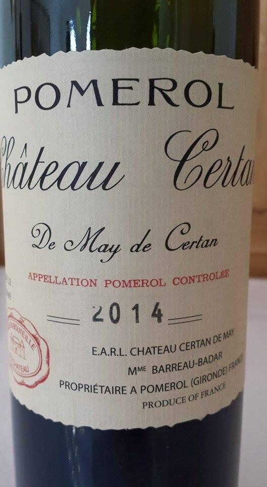 Château Certan de May de Certan 2014 – Pomerol