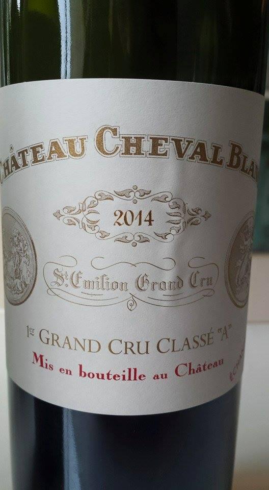 Château Cheval Blanc 2014 – 1er Grand Cru Classé A – Saint-Emilion Grand Cru