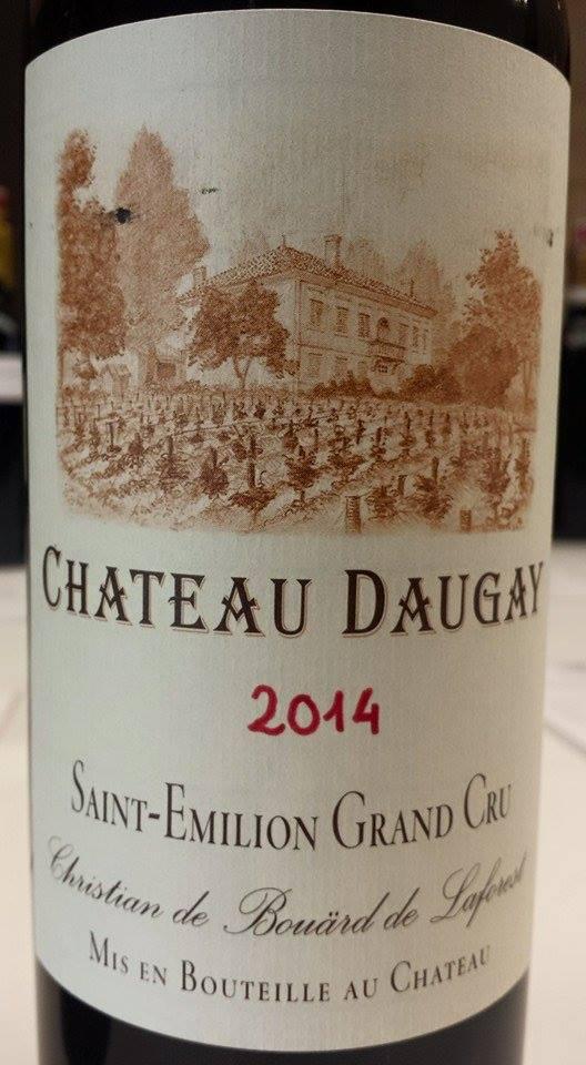 Château Daugay 2014 – Saint-Emilion Grand Cru