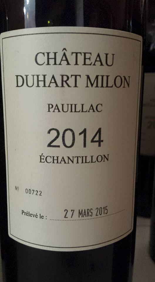 Château Duhart-Milon 2014 – 4ème Grand Cru Classé à Pauillac