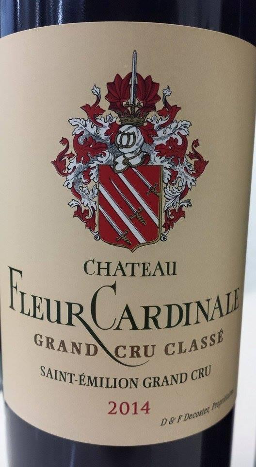 Château Fleur Cardinale 2014 – Grand Cru Classé de Saint-Emilion