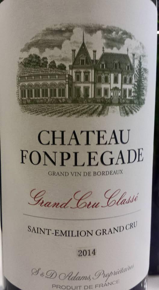 Château Fonplegade 2014 – Saint-Emilion Grand Cru Classé